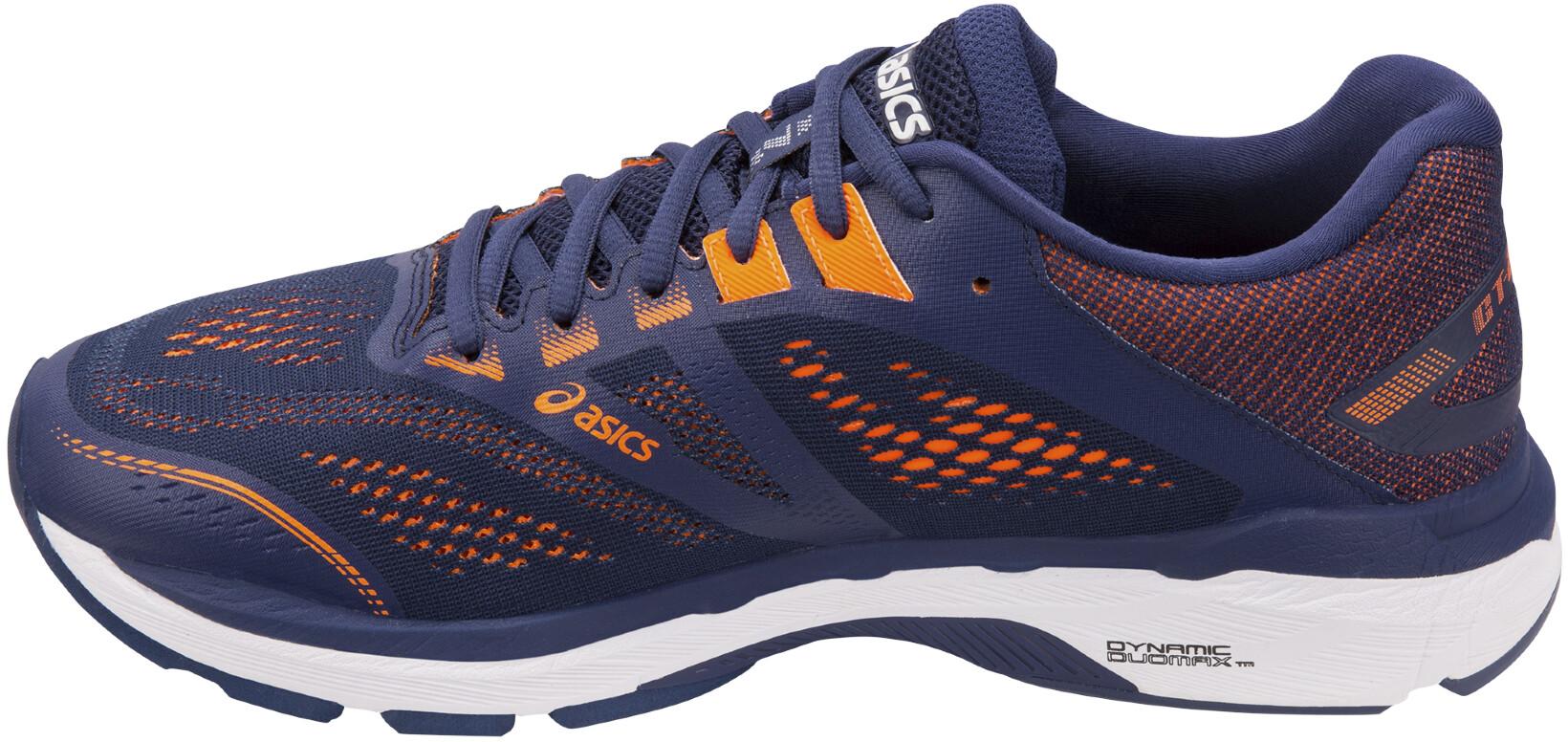 asics GT 2000 7 scarpe da corsa Uomo, indigo blueshocking orange